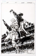 "Original Comic Art:Covers, Jackson ""Butch"" Guice Winterworld #2 Cover Original Art (IDWPublishing, 2014)...."