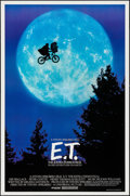 "Movie Posters:Science Fiction, E.T. The Extra-Terrestrial (Universal, 1982). One Sheet (26.75"" X40.5"") Bicycle Style. Science Fiction.. ..."