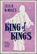 "Movie Posters:Historical Drama, The King of Kings (Cinema Corporation of America, R-1950s). OneSheet (28"" X 41""). Historical Drama.. ..."