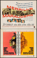 "Movie Posters:War, None But the Brave & Other Lot (Warner Brothers, 1965). HalfSheets (2) (22"" X 28""). War.. ... (Total: 2 Items)"