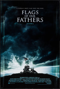 "Flags of Our Fathers & Others Lot (Warner Brothers, 2006). One Sheet (27"" X 41"") DS Regular & SS Advan..."