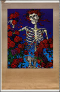"The Grateful Dead (1980s). Printer's Proof Poster (28"" X 38"") ""Skull and Roses."" Rock and Roll"