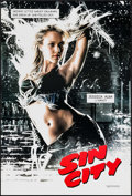 "Movie Posters:Crime, Sin City (Dimension, 2005). One Sheet (27"" X 40"") DS Nancy Style.Crime.. ..."
