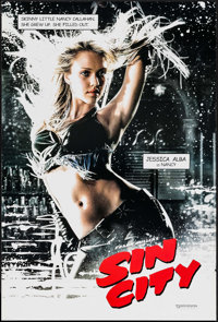 """Sin City (Dimension, 2005). One Sheet (27"""" X 40"""") DS Nancy Style. Crime"""