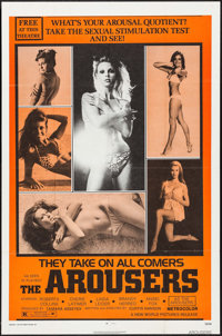 """The Arousers & Others Lot (New World, 1970). One Sheets (3) (27"""" X 41"""") & Photos (3) (8"""" X 10&quo..."""