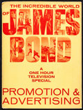 "Movie Posters:James Bond, Incredible World of James Bond Television Special (United ArtistsTelevision, 1965). Presskit (9"" X 12""). James Bond.. ..."