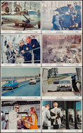 "Movie Posters:Action, The Italian Job (Paramount, 1969). Color Photo Set of 8 (8"" X 10"").Action.. ... (Total: 8 Items)"