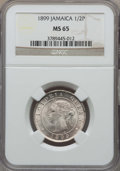 Jamaica:British Colony, Jamaica: British Colony. Victoria 1/2 Penny 1899 MS65 NGC,...