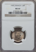 Jamaica:British Colony, Jamaica: British Colony. Victoria 1/4 Penny (Farthing) 1900 MS64 NGC,...