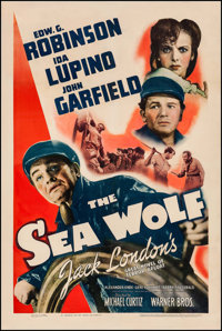 """The Sea Wolf (Warner Brothers, 1941). One Sheet (27"""" X 41""""). Adventure"""