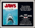 "Movie Posters:Horror, Jaws (Universal, 1975). Half Sheet (22"" X 28""). Horror.. ..."