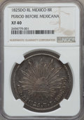 Mexico, Mexico: Republic 8 Reales 1825 Do-RL XF40 NGC,...