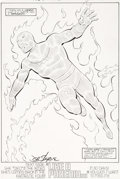 Original Comic Art:Splash Pages, John Byrne and Al Gordon Fantastic Four #285 Splash Page 22Original Art (Marvel, 1985)....