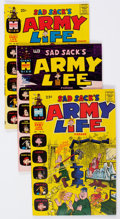 Bronze Age (1970-1979):Humor, Sad Sack's Army Life Parade File Copies Box Lot (Harvey, 1969-76) Condition: Average NM-....