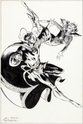 Original Comic Art:Splash Pages, June Brigman and Roy Richardson Visions: The Magazine of theAtlanta Fantasy Fair Doctor Strange Pin-Up Original A...