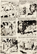 Original Comic Art:Panel Pages, Wally Wood Incredible Science Fiction #33 Story Page 2Original Art (EC, 1956)....