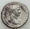 Ancients:Roman Provincial , Ancients: ARABIA. Petra(?). Trajan (AD 98-117). AR tridrachm (10.52gm). Choice VF....