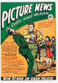 Golden Age (1938-1955):Non-Fiction, Picture News #3 (Lafayette Street Corp., 1946) Condition: VF....