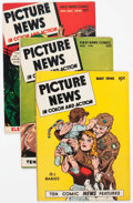 Golden Age (1938-1955):Non-Fiction, Picture News #5, 7, and 9 Group (Lafayette Street Corp., 1946)Condition: Average FN.... (Total: 3 Comic Books)