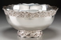 Silver Holloware, American:Punch Bowls, A Whiting Mfg. Co. Silver Punch Bowl, circa 1900, New York, NewYork. Marks: (W-griffin), STERLING, 3050, 11 PINTS. ...