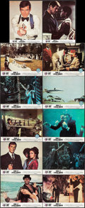 "Movie Posters:James Bond, Live and Let Die & Other Lot (United Artists, 1973). FrenchLobby Card Set of 12 (8.5"" X 10.5""), Commercial Mini Lobby Card ...(Total: 29 Items)"