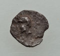 Ancients:Judaea, Ancients: JUDAEA. Yehud Era (ca. 375-302 BC). Hezekiah (ca. 350-332BC or 332-302 BC). AR quarter ma'ah obol (0.18 gm). VF....