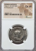 Ancients:Roman Provincial , Ancients: SYRIA. Antioch. Philip II (AD 247-249). BI tetradrachm.NGC Choice VF. ...
