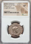 Ancients:Roman Provincial , Ancients: SYRIA. Antioch. Philip II (AD 247-249). BI tetradrachm.NGC XF. ...