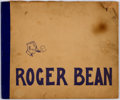 Platinum Age (1897-1937):Miscellaneous, Roger Bean, R. G. #1 (Indiana News Co./ Chas B. Jackson, 1915)Condition: GD....