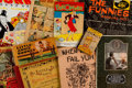 Platinum Age (1897-1937):Miscellaneous, Platinum to Golden Age Books and Papers Group of 11 (Various Publishers, 1890s-1950s) Condition: Average VG/FN.... (Total: 11 Comic Books)