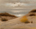 Fine Art - Painting, American:Antique  (Pre 1900), Nels Hagerup (American, 1864-1922). The Dunes Before theSea. Oil on canvas. 16 x 20 inches (40.6 x 50.8 cm). Signedlow...