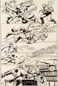Original Comic Art:Panel Pages, Frank Miller and Klaus Janson Daredevil #173 Panel PageOriginal Art (Marvel, 1981)....