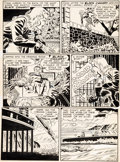Original Comic Art:Panel Pages, Carmine Infantino - Unpublished Black Canary Page 3 Original Art(DC, circa 1949)....