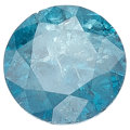 Estate Jewelry:Unmounted Diamonds, Irradiated Blue Diamond. . ...