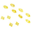 Estate Jewelry:Unmounted Diamonds, Unmounted Yellow Diamonds. . ... (Total: 11 Items)