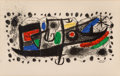 Prints, Joan Miró (Spanish, 1893-1983). Star Scene. Lithograph in colors. 13-1/8 x 20-3/4 inches (33.3 x 52.7 cm) (sight). Signe...