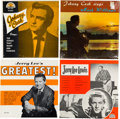 Music Memorabilia:Recordings, Sun Records - Group of Four Johnny Cash/ Jerry Lee Lewis LPs (1958-61).... (Total: 4 Items)