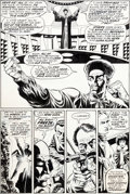 Original Comic Art:Panel Pages, Paul Gulacy and Jack Abel Master of Kung Fu #48 Page 6Original Art (Marvel, 1977)....