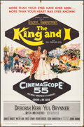 """Movie Posters:Musical, The King and I (20th Century Fox, 1956). One Sheet (27"""" X 41""""). Musical.. ..."""