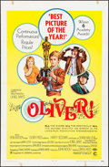 "Movie Posters:Academy Award Winners, Oliver! (Columbia, 1968). One Sheet (27"" X 41"") Academy Award Style. Musical.. ..."
