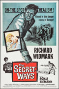 """Movie Posters:Adventure, The Secret Ways & Other Lot (Universal, 1961). One Sheets (2)(27"""" X 41""""). Adventure.. ... (Total: 2 Items)"""