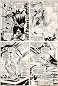 Original Comic Art:Panel Pages, John Buscema and Frank Giacoia Sub-Mariner #2 Page 18Original Art (Marvel, 1968)....