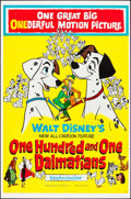 "Movie Posters:Animation, 101 Dalmatians (Buena Vista, 1961). One Sheet (27"" X 41"").Animation.. ..."
