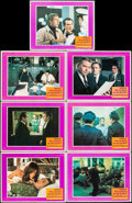 """Movie Posters:Crime, Bullitt (Warner Brothers, 1968). Lobby Cards (7) (11"""" X 14"""").Crime.. ... (Total: 7 Items)"""