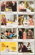 "Movie Posters:Drama, Cat on a Hot Tin Roof (MGM, 1958). Lobby Card Set of 8 (11"" X 14"").Drama.. ... (Total: 8 Items)"