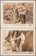 "Movie Posters:Adventure, Miss Adventure (Fox, 1919). Lobby Cards (2) (11"" X 14"").Adventure.. ... (Total: 2 Items)"