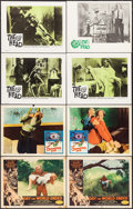 """Movie Posters:Science Fiction, Day the World Ended & Others Lot (American Releasing Corp.,1956). Lobby Cards (8) (11"""" X 14""""). Science Fiction.. ... (Total: 8Items)"""