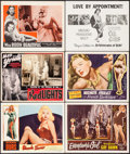 "Movie Posters:Bad Girl, Blonde Sinner & Others Lot (Allied Artists, 1956). Lobby Cards(6) & Title Lobby Cards (4) (11"" X 14""). Bad Girl.. ... (Total:10 Items)"