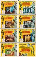 """Movie Posters:Science Fiction, Cat-Women of the Moon (Astor Pictures, 1954). Lobby Card Set of 8(11"""" X 14""""), One Autographed Card. Science Fiction.. ... (Total: 8Items)"""