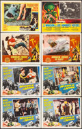 "Movie Posters:Science Fiction, Missile to the Moon & Others Lot (Astor Pictures, 1958). LobbyCards (6) , Mexican Lobby Card (11"" X 14"") & Trimmed LobbyCa... (Total: 8 Items)"